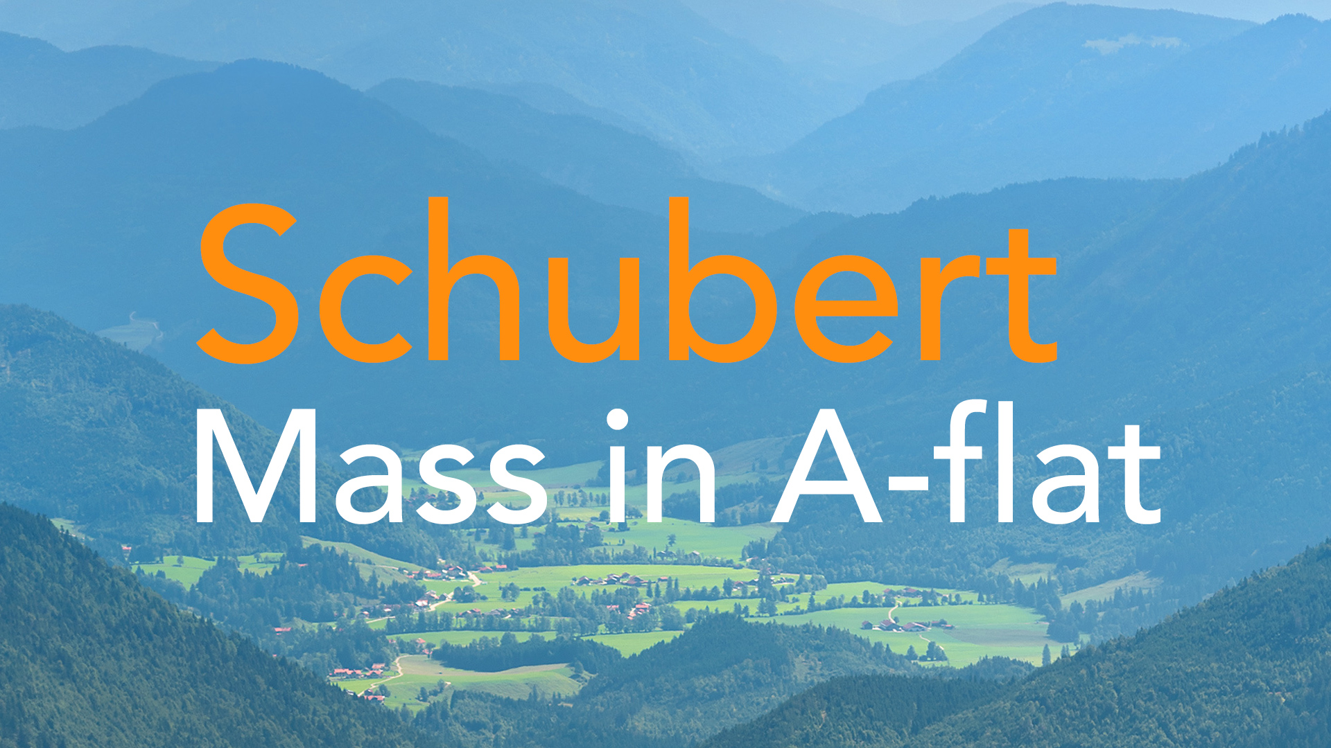 Schubert Mass in A-flat