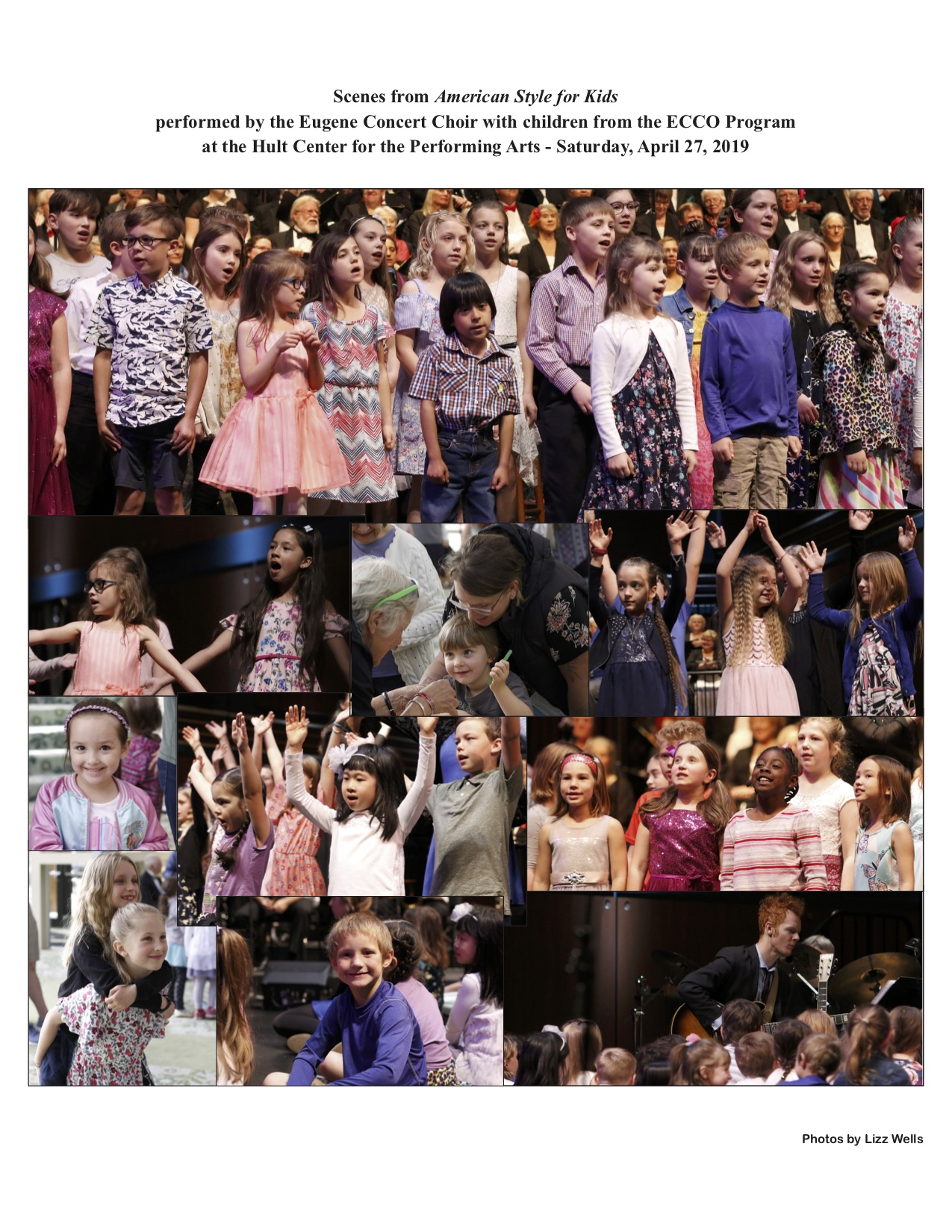 American Style for Kids Collage