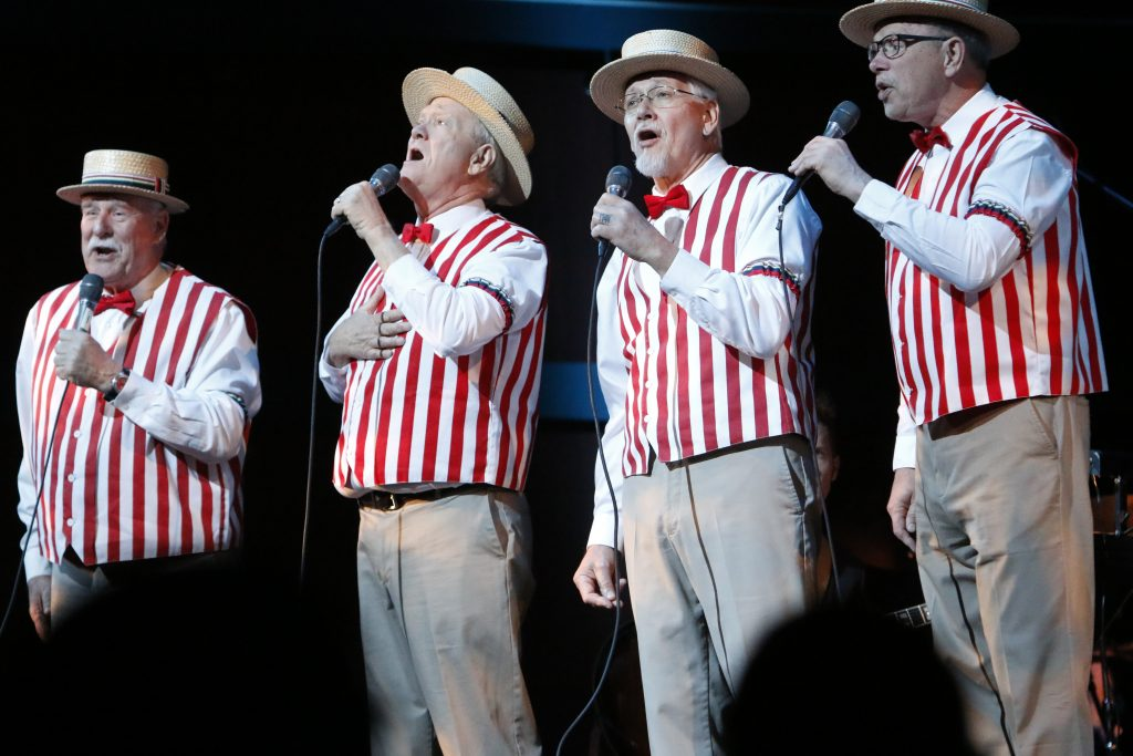 Social Insecurity Barbershop Quartet
